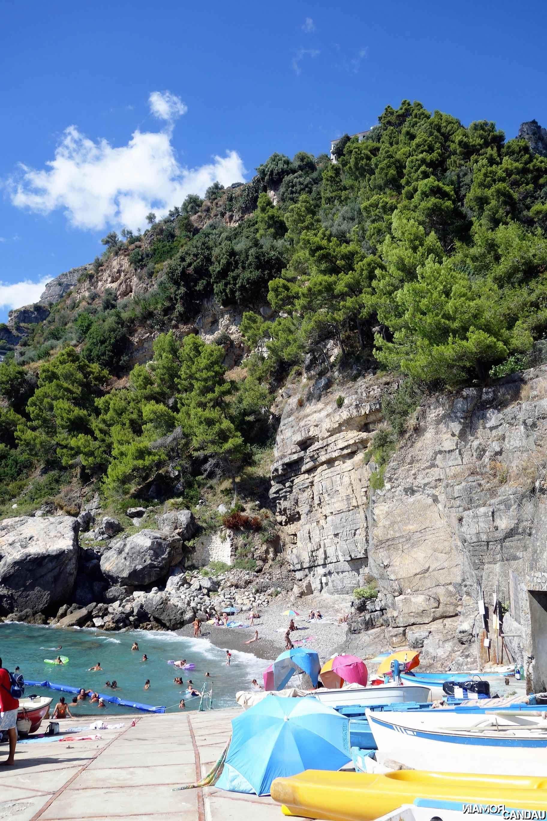 Gavitella beach, Praiano