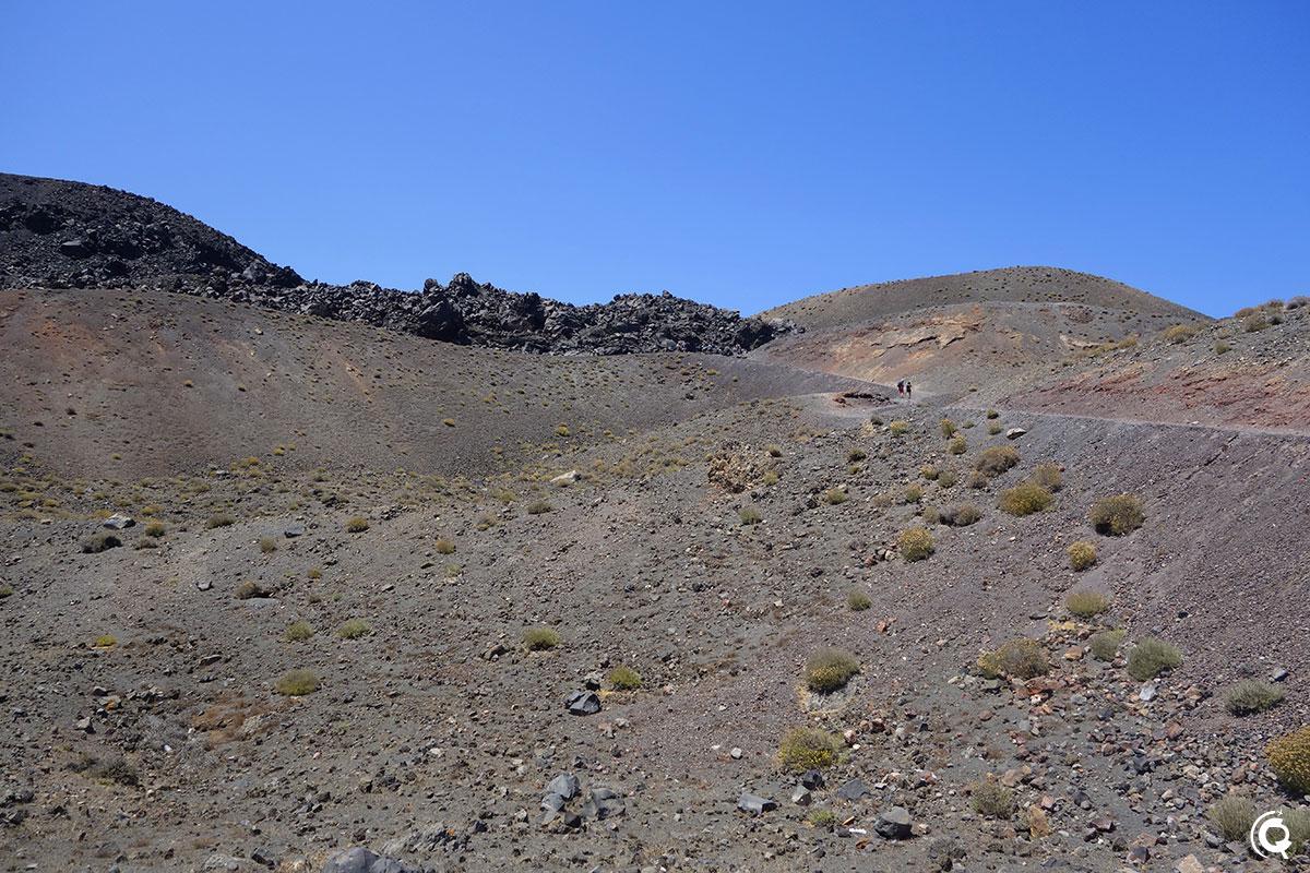 Montée vers le volcan