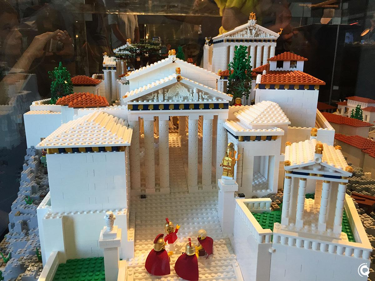 Le musée de l'Acropole d'Athènes