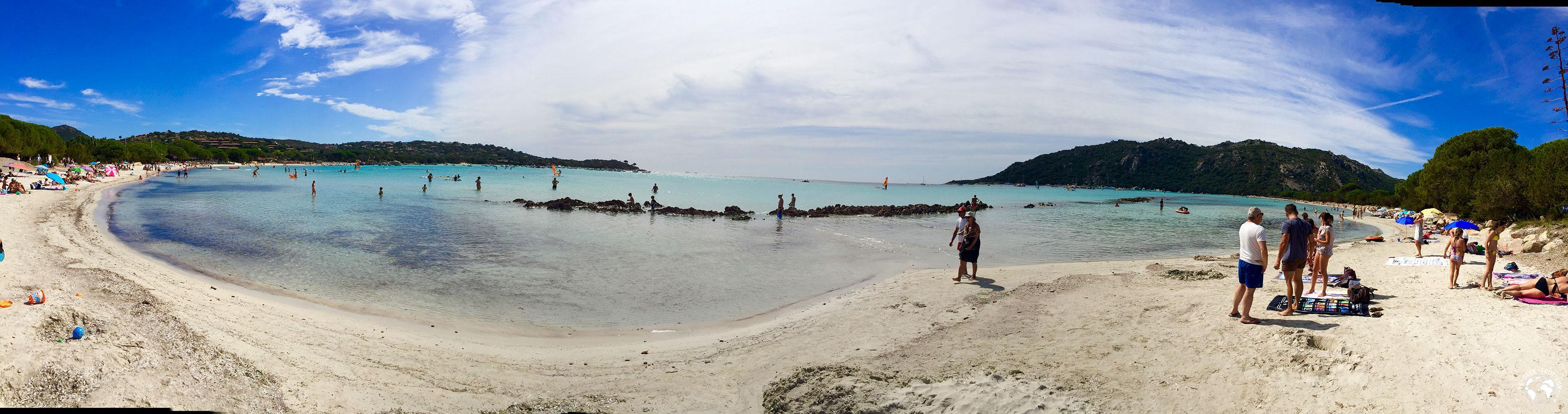 La plage de Santa Giulia en Corse