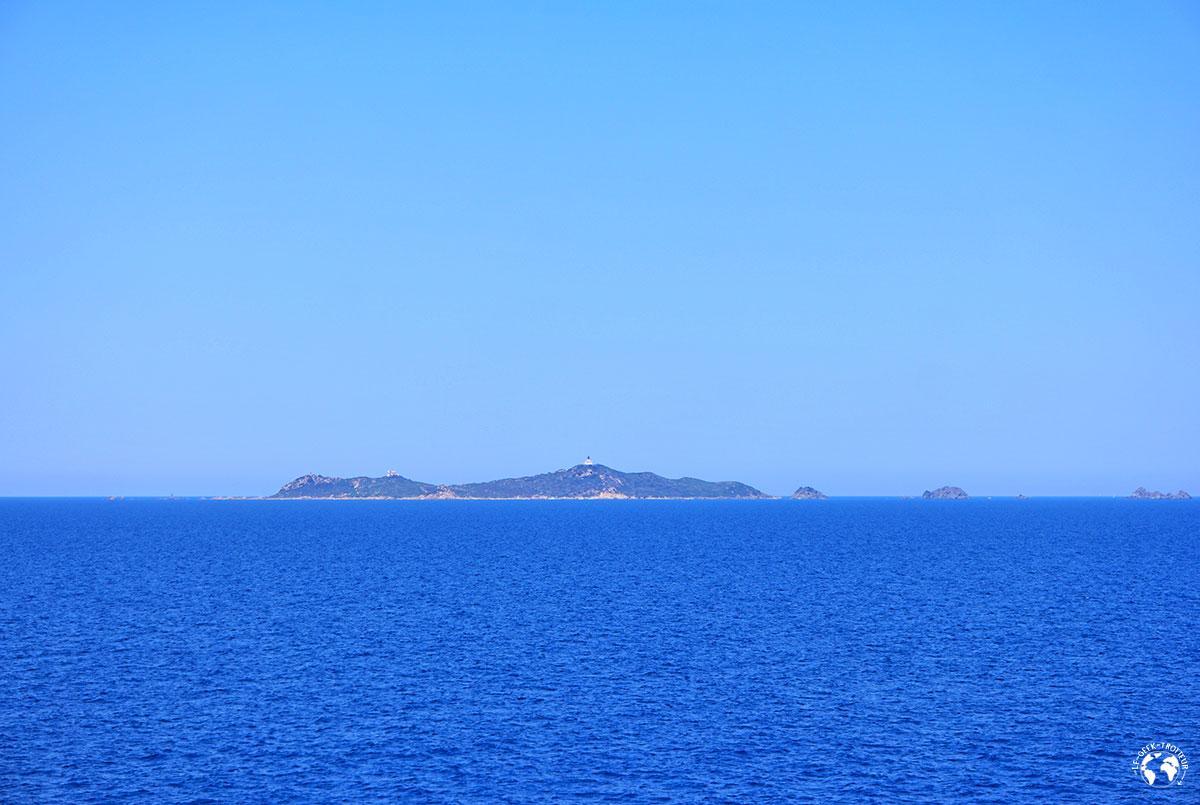 Premier aperçu de la Corse