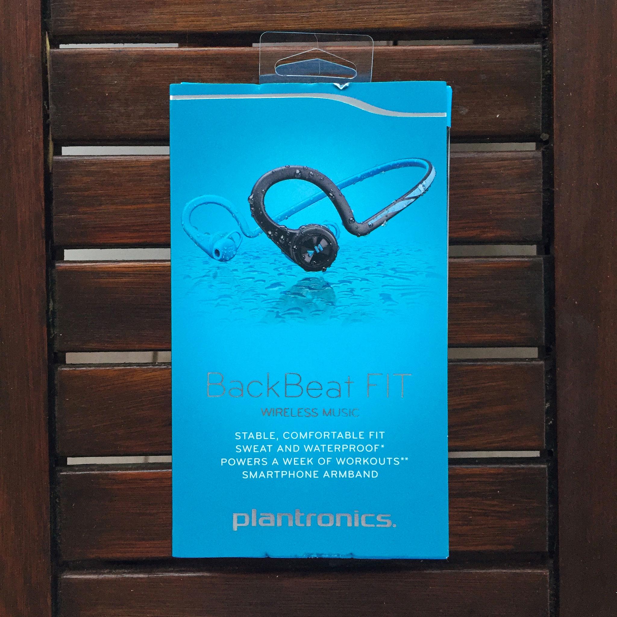 Packaging écouteurs Plantronics Backbeat Fit II