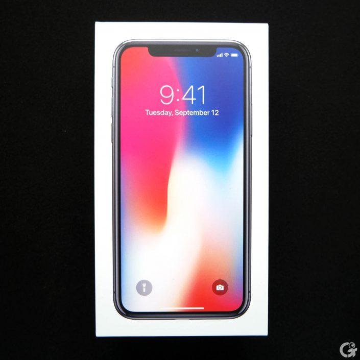 Boîte de l'iPhone X