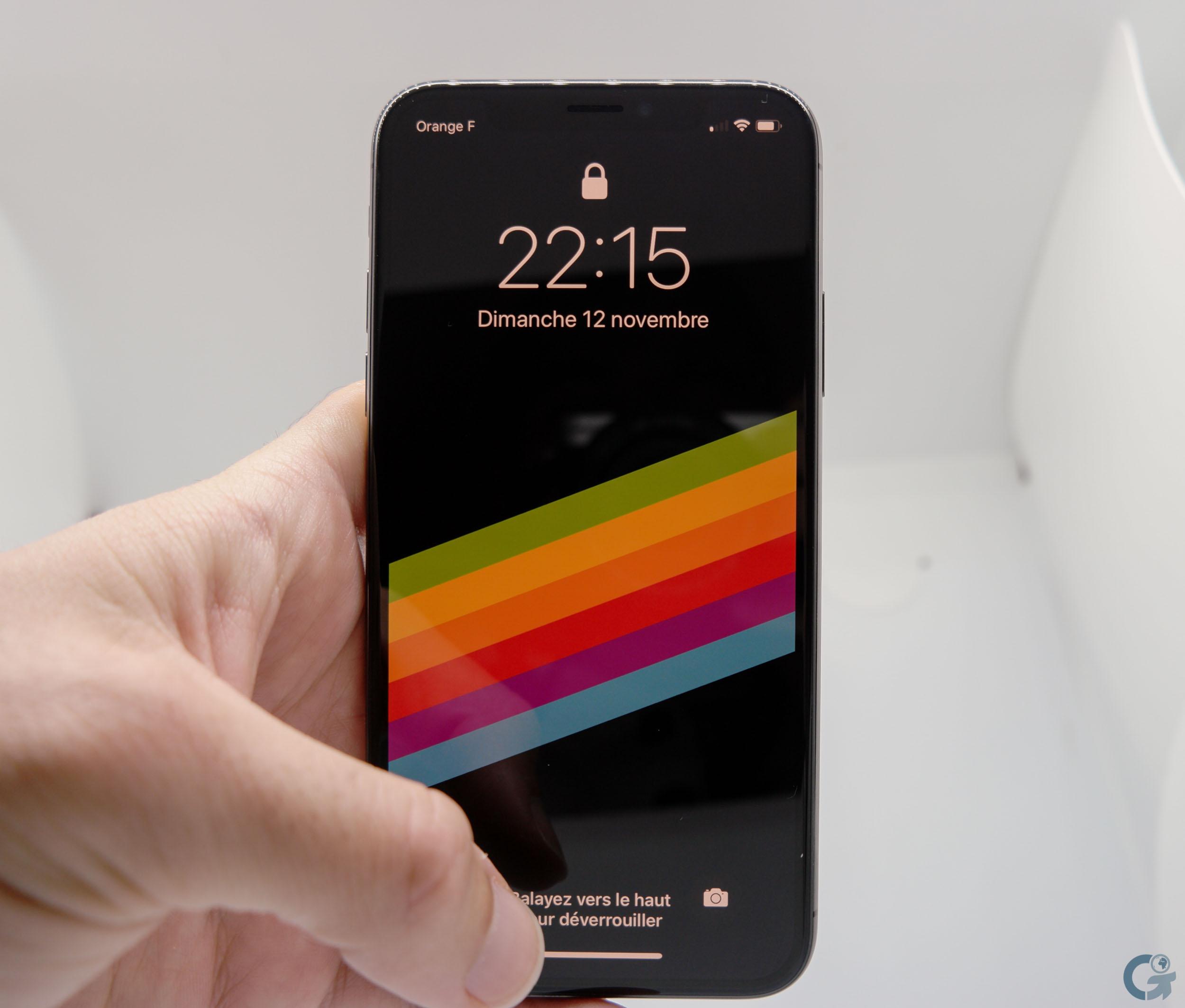 L'écran OLED 5.8 pouces AMOLED 2436 x 1125 pixels