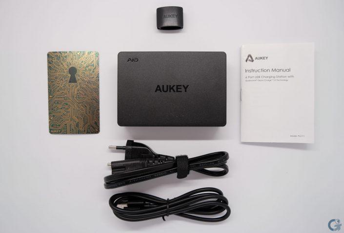 Contenu boîte Aukey PA-T11