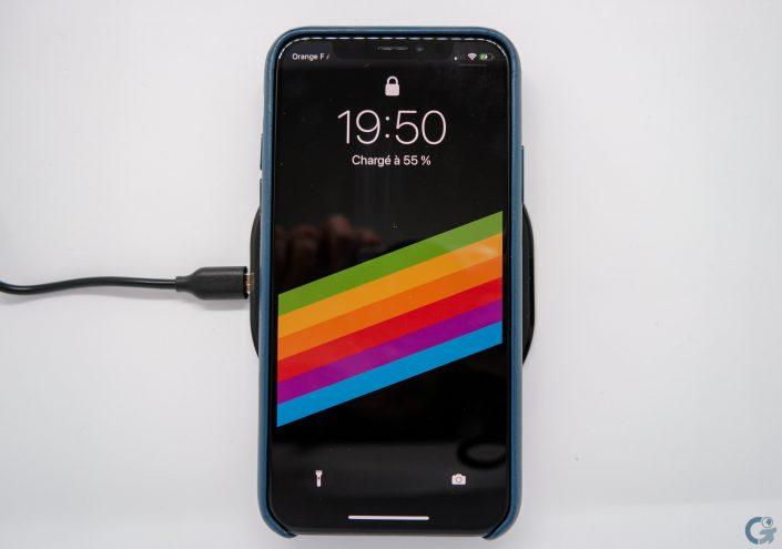 Recharge sans-fil iPhone X avec Anker Powerport Qi 10