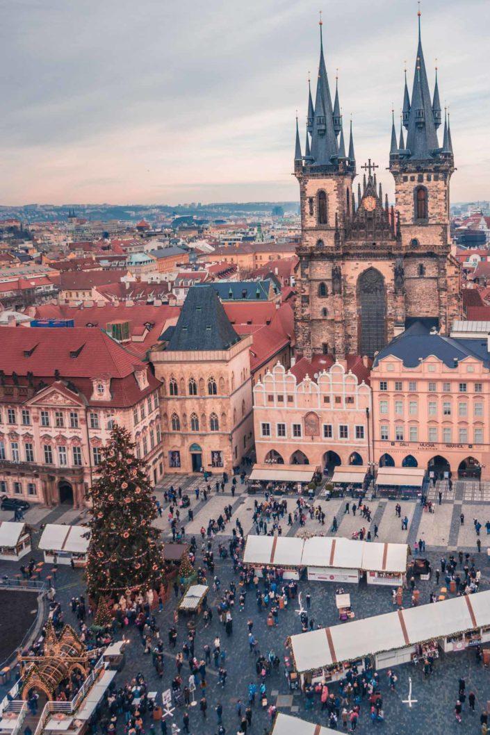 L'église de Notre-Dame du Týn à Prague