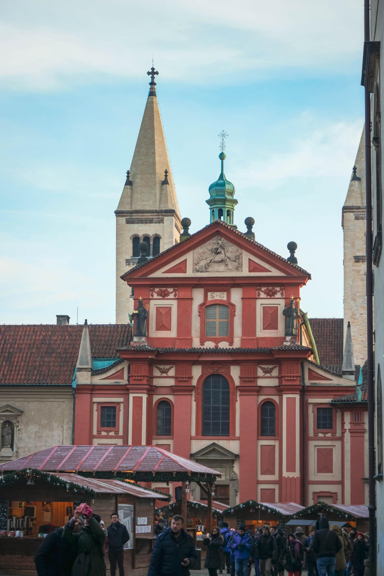 La basilique Saint-Georges de Prague