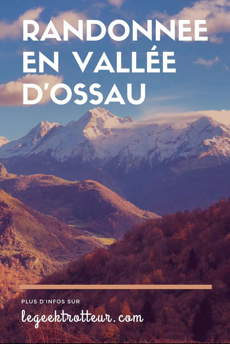 Randonnée automnale en vallée d'Ossau dans les Pyrénées - Le Geek Trotteur