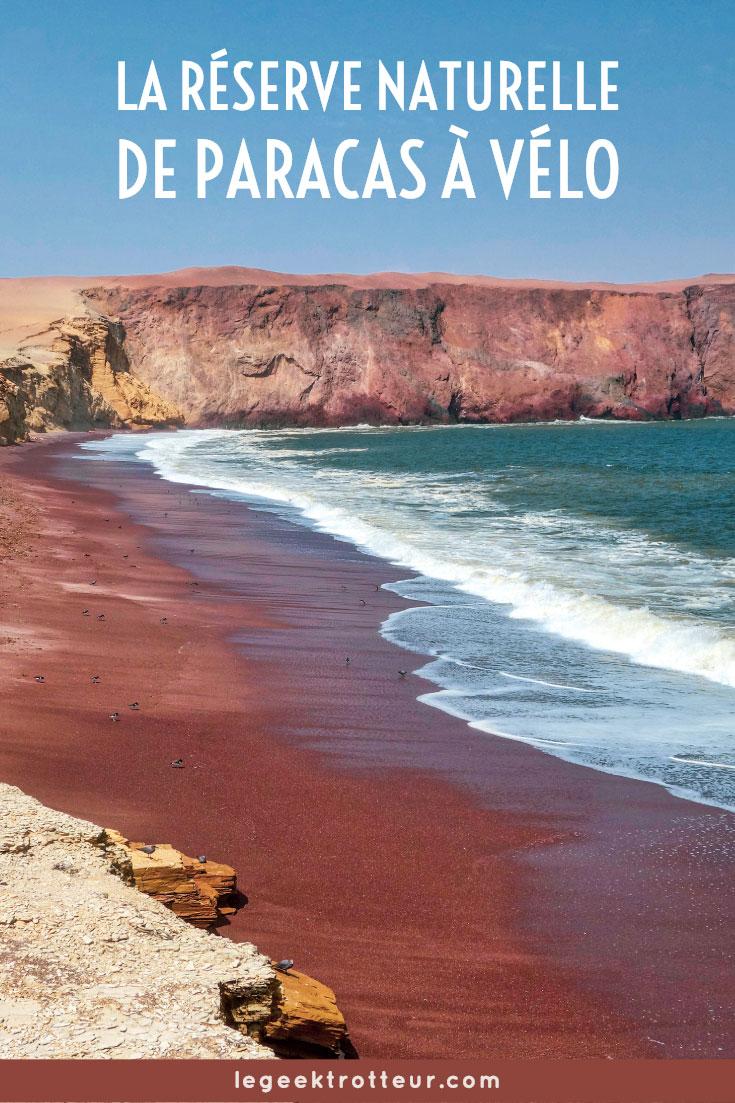 La réserve naturelle de Paracas à vélo | Le Geek Trotteur
