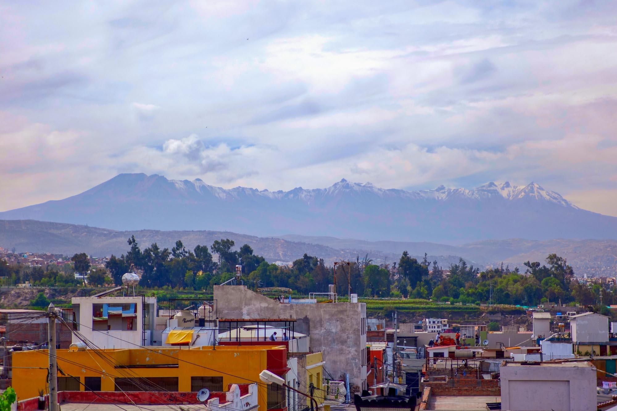 Le mirador de Yanahuara à Arequipa