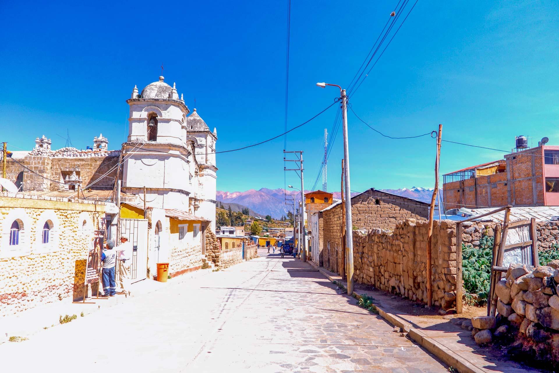 le village de Maca