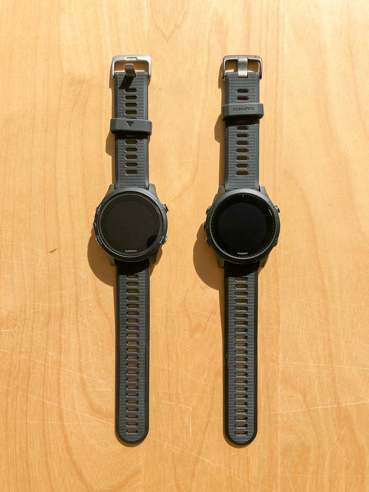 Comparaison Garmin 935 / 945