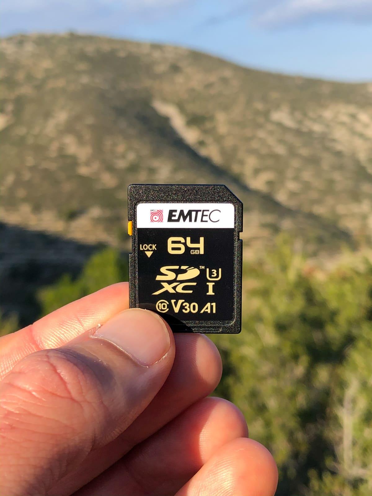 Carte SD Emtec 64GB Classe 10 UHS-1 U3 V30